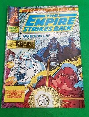The Empire Strikes Back Weekly ***VGC - ISSUE #124!!*** Marvel 1980 Star Wars #2