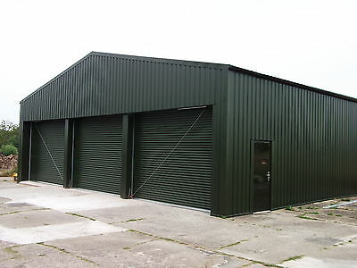 Aircraft Hangar 14m x 10m | Roller Door Storage Industrial | No12