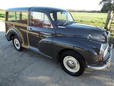1962 Morris Minor Travler