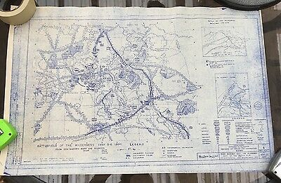 Civil War Centennial Map of The Battle of The Wilderness
