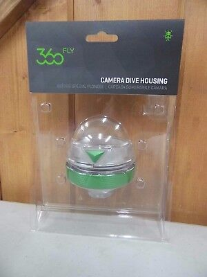 360fly Dive Housing - Clear Black Dive Housing - Clear, (FLYCDHA01CEN) ~ New