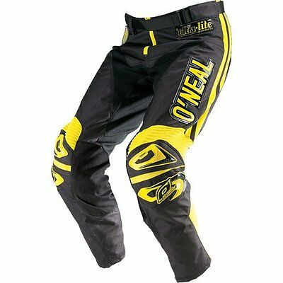 O'neal Ultra Lite '70 Pants Black/yellow