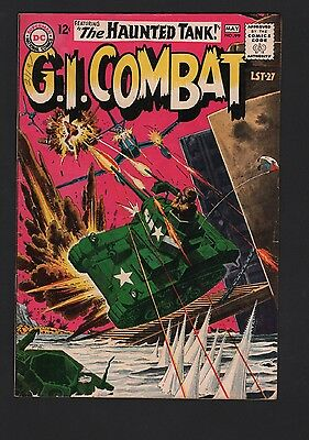 G.I. Combat #99 F- 5.5 Off White Pages GREY TONE COVER