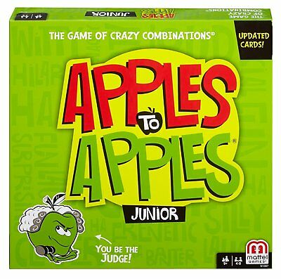 Apples to Apples Junior Kids Card Game Ages 9+ by Mattel T4