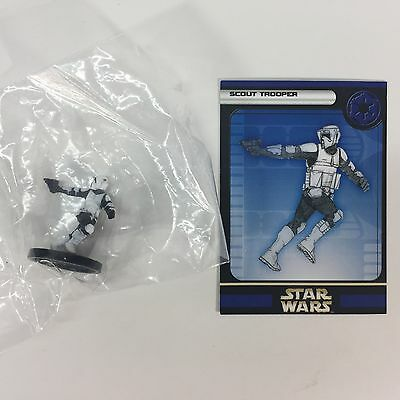 Star Wars Miniature Rebel Stormtroopers #33 #37 #24 All New With Cards Lot of 4