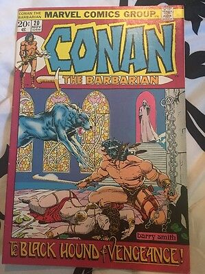 Conan the Barbarian (1970 Marvel) #20 Barry Windsor Smith