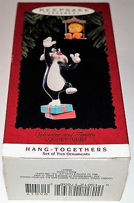 HALLMARK SYLVESTER AND TWEETY BIRD 1995 LOONEY TUNES Free Shipping