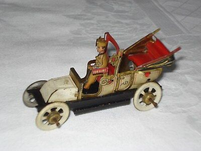 Penny Toys Limousine Vintage Saloon Car With Driver Germany Distler
