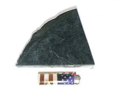 "Blue Dream Jade 1/2""+ Slab (Lapidary or Jewelry Rough - Nephrite)"