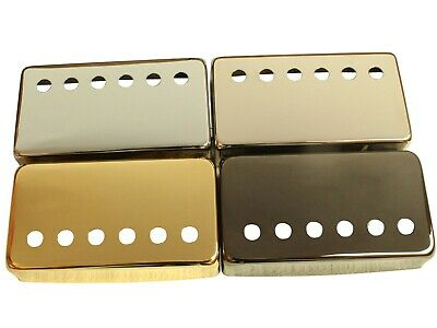Humbucker cover PAF style, 50mm or 52mm, nickel, chrome, gold and black finishes