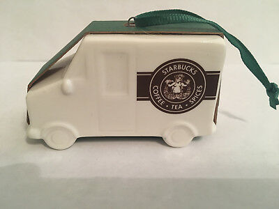 Starbucks Vintage Truck Ornament New With Tags Old Logo Starbucks Coffee Truck