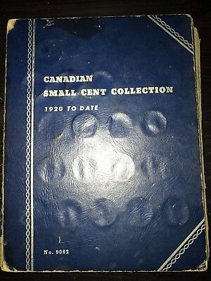 1920 Canadian Small Cent Collection 1920–1972