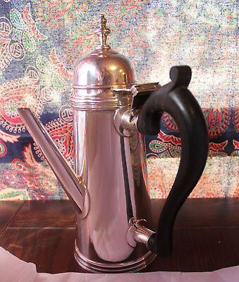 """Stieff Sterling Williamsburg Colonial Reproduction Lighthouse Coffee Pot 11.5"""""""