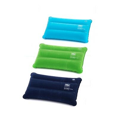 Camping Pillow Inflatable Fabric Feel Head Cushion Travel Hiking OutdoorSurvival