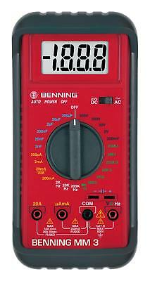 Benning Digital-Multimeter MM 3 - 044029