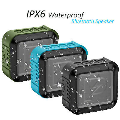 PASBUY P8 Portable In/Out IPX 6 Waterproof Bluetooth4.1 Speaker with NFC TF FM