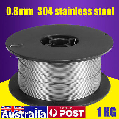 "1kg Roll 0.8mm/0.035"" 304 Stainless Steel Gasless Mig Welding Wire Self-shielded"