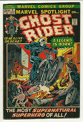 Marvel Spotlight 1972 #5 Fine/fine+ 1st Ghost Rider