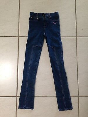 Denim Giddy Up Girl Jodhpurs Size C6