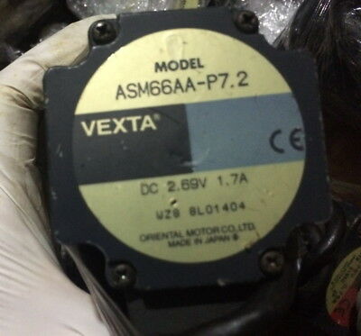 1PCS  VEXTA Stepper motor ASM66AA-P7.2 good in condition for industry use