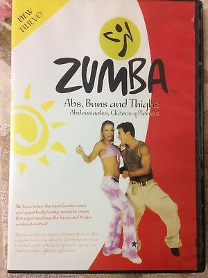 zumba dvd -Abs, buns and thighs