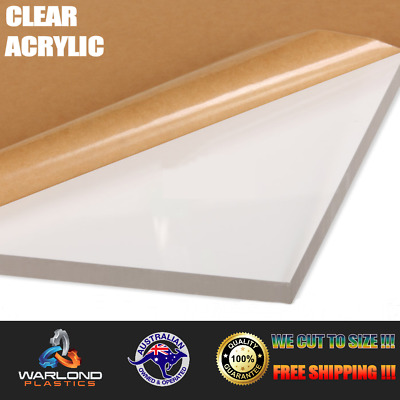 ACRYLIC / PERSPEX CLEAR (A6 Size 148x105mm Sheet) 1.5mm to 25mm THICK FREE PO...