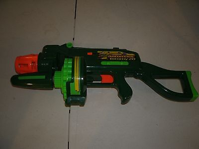 Buzz Bee Toys Air Blasters Motorized Automatic Tommy 20 Dart Gun Tested = GOOD