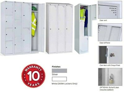 Rapidline GO Steel Locker Collection 10 Year Warranty