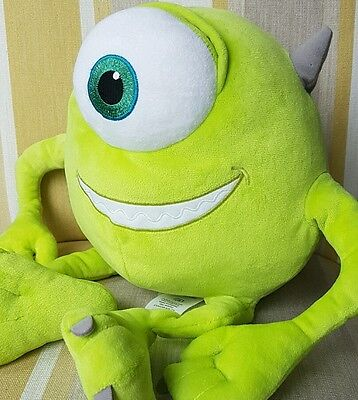 """Mike from Monsters Inc 15"""" plush foot stamped by Disney Store"""