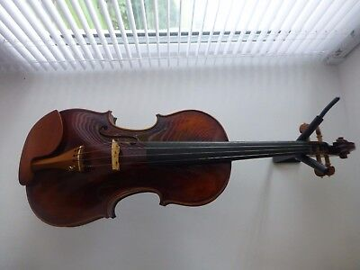 New Hand Made Violin, Antique Style Varnish, Boxwood Fittings, From Uk
