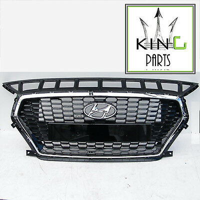 Hyundai I30 2017 2018 19 Front Bumper Radiator Grill Grille Genuine 86531-G4000