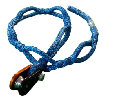 "Soft Anchor Rigging Sling 1/2"" x 5' with CMI RP162 Rigging Block"