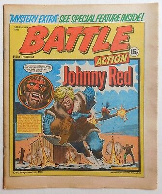 BATTLE - ACTION Comic - 14th February 1981