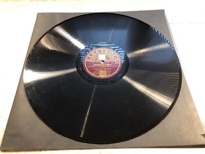 78 RPM ELECTROLA SCUBERT ARPEGGIONE HOELSCHER & NEY (1 DISC of a Set of TWO)