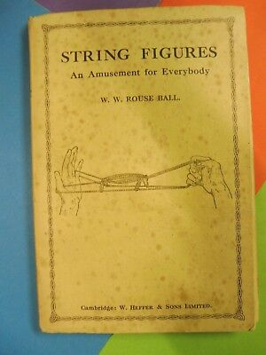 String Figures, Cat's cradle. book 1928 W.W. Rouse Ball.