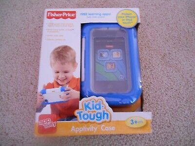 Fisher Price Kid Tough Apptivity Case NIB Protect Iphone Ipod Touch 3+ X4105 FP