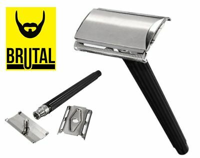 Traditional Classic Stainless Steel Manual Shaver Double Edge Blade Safety Razor