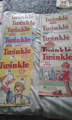 11x Twinkle and Little Star Comics from 1976