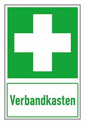 SafetyMarking Schild Folie 300 x 200 mm Verbandkasten - 38.0074