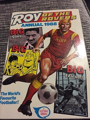 Roy Of The Rovers Annual 1988- Unclipped