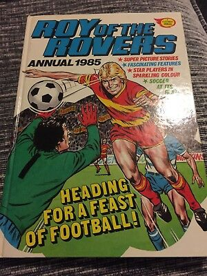 Roy Of The Rovers Annual 1985- Unclipped
