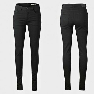 Girls Jeans Age 9 10 11 12 13 Years Skinny Fit Black High Rise Slim Fit New
