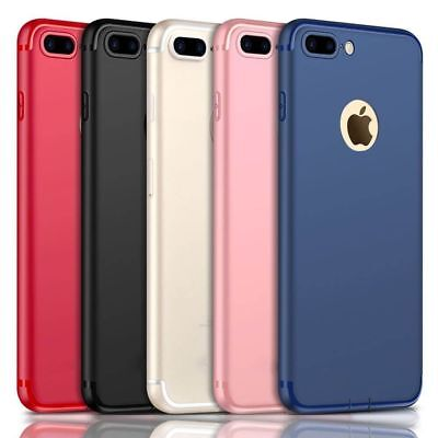 Luxury Matte Shockproof Silicone Slim Case For iPhone 6 7 8 Plus 10 X Thin Cover