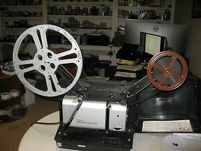 LED, Movie Projector, 16 mm, Telex, with sound, synchronous motor