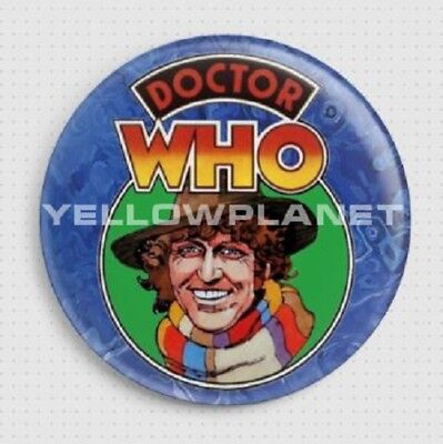 Doctor Who Badges - 1977 Dr Who, Weetabix, Retro, Dalek, Cyberman