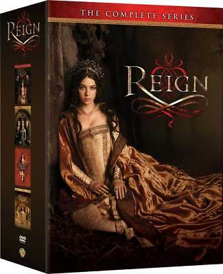 Reign: The Complete Series Seasons 1-4 (DVD Set) 1 2 3 4 two three four New!
