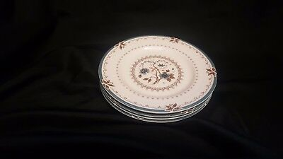 SET OF 4 - Royal Doulton Old Colony Bread Butter Plates - English Fine China