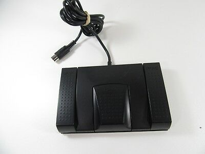 Sanyo Foot Control Fs-56  - Foot Pedal For Transcribing - 6 Pin - Free Shipping