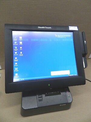 Pioneer Stealth Touch M5 POS Point of Sale, TOM-M1 monitor, Card Reader, Printer