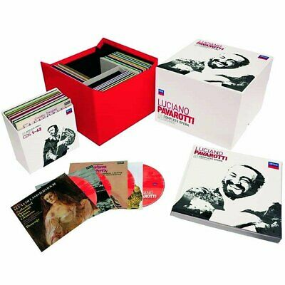 Luciano Pavarotti Complete Operas box set 101 CD NEW sealed